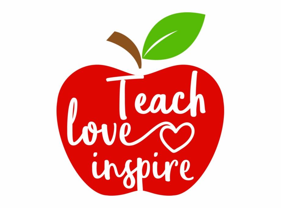 Download Teach Love Inspire Apple | Transparent PNG Download #79916 ...