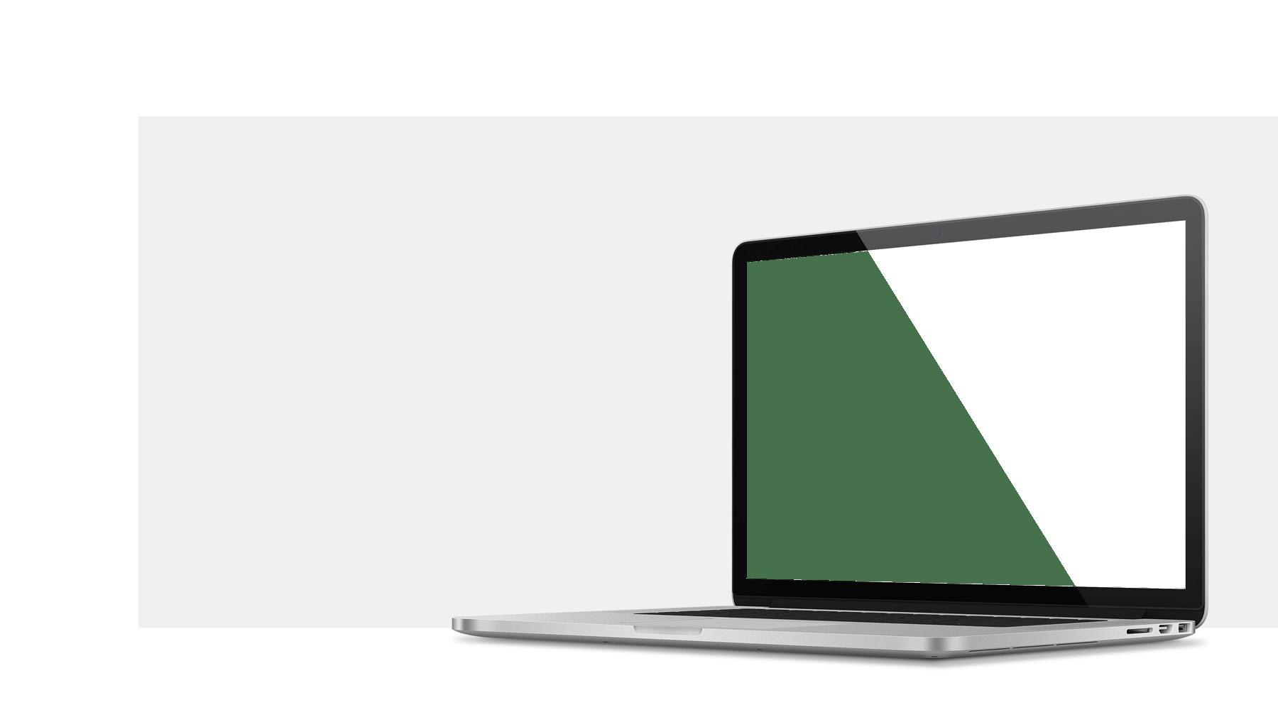 Mydiary: Transparent Background Laptop Mockup Png