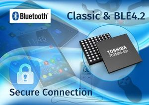 Circuit Bluetooth double-mode supportant Bluetooth LE 4.2 | Toshiba