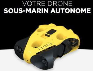 Drone sous-marin autonome : Notilo Plus lève 1,9 million d'euros