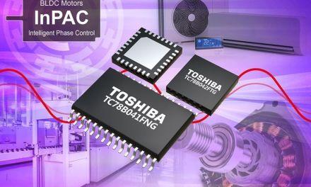 Contrôleurs de moteur triphasé sans-balais, à commande sinusoïdale   Toshiba