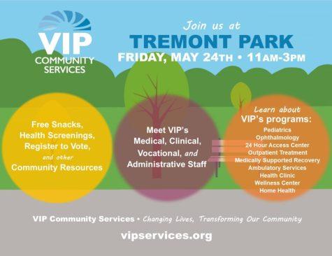 vip tremont park socialmedia