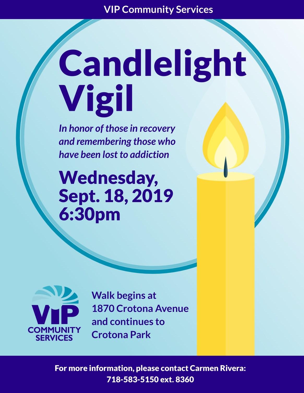 VIP Candlelight Vigil