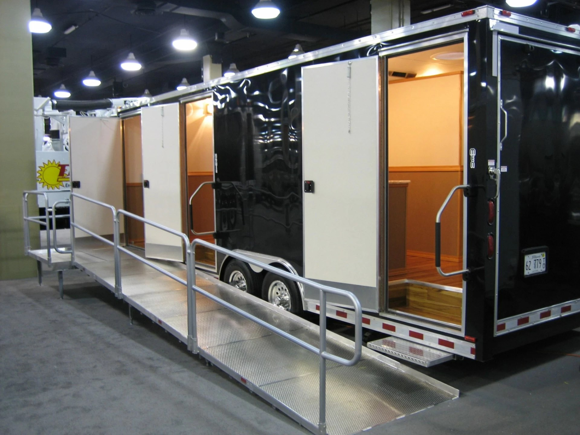 A Restroom Trailer Keeps Your Event Or Work Clean