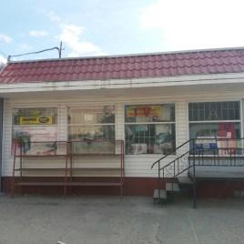 Торгівельний павільйон, м. Канів, район центрального ринку