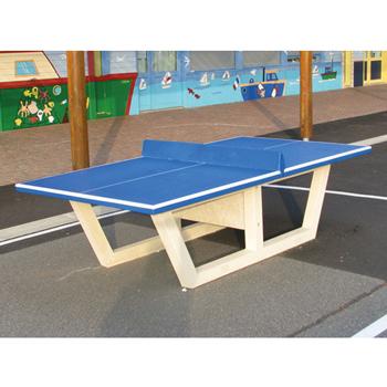 Table De Ping Pong En Beton Virages