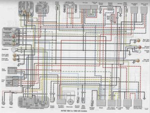 ViragoTechForum • View topic  83 XV750 Electrical
