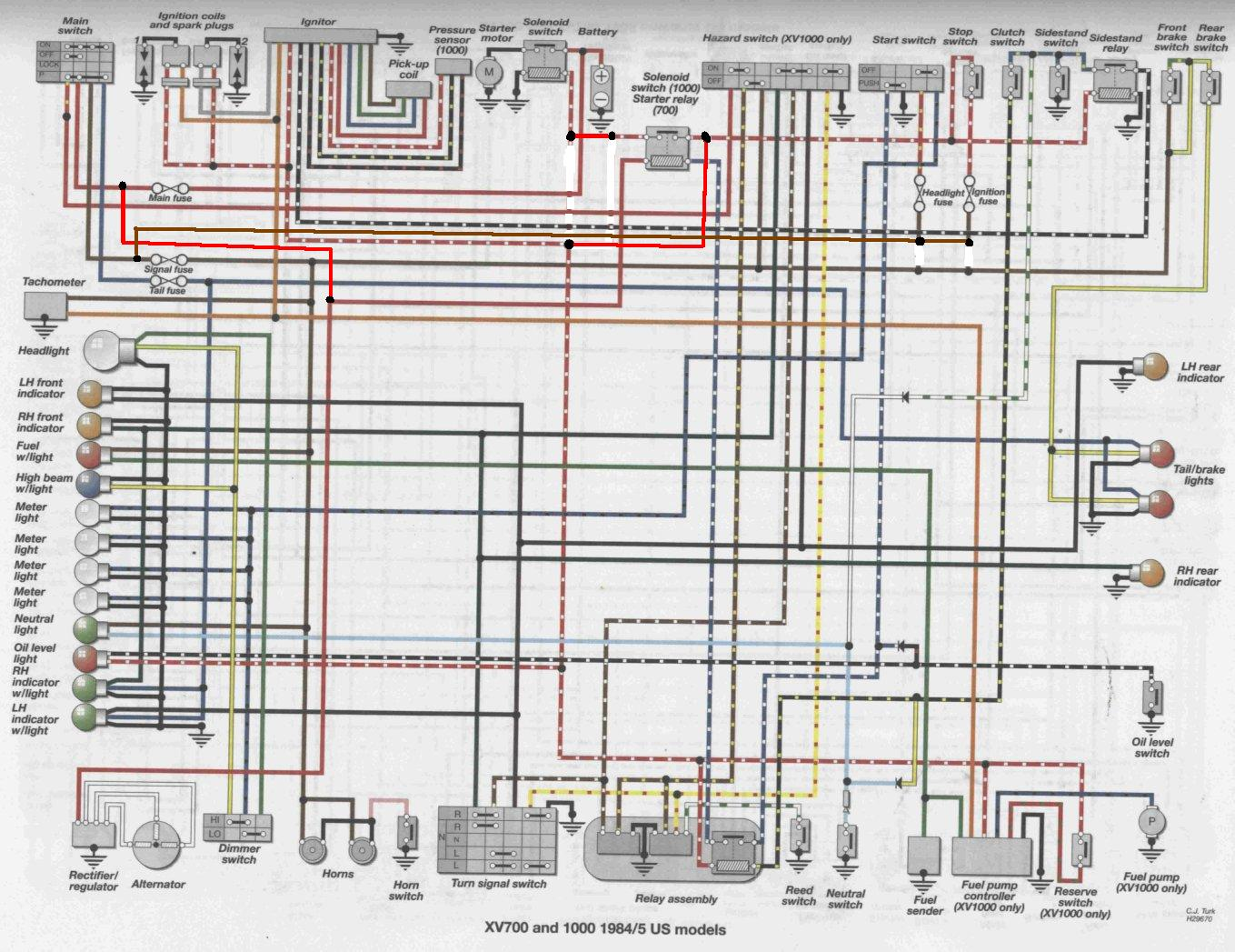 hight resolution of 1984 honda shadow 700 wiring diagram