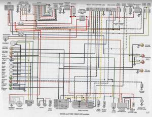 ViragoTechForum • View topic  1985 XV700 Wiring diagrams
