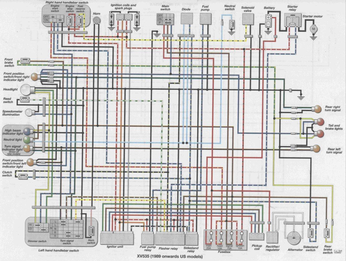 hight resolution of viragotechforum com u2022 view topic xv535sh wiring yamaha 1100 yamaha xvs1100 wiring diagram