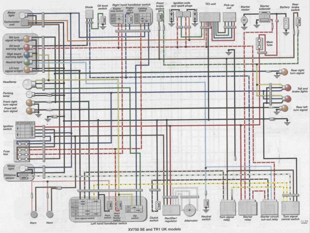 medium resolution of 82 yamaha virago 920 wiring diagram get free image about