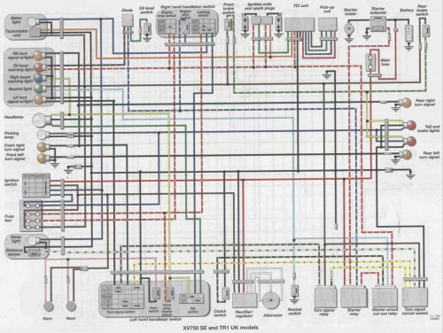 small resolution of 82 yamaha virago 920 wiring diagram get free image about