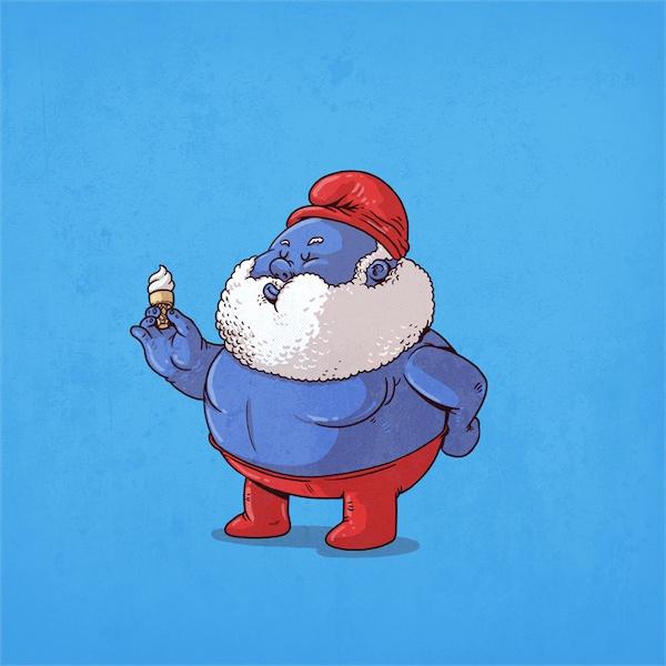29個著名角色爆笑變胖,看了你也不敢暴飲暴食!