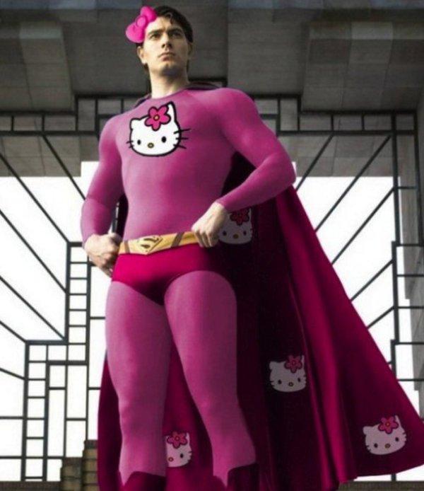 當這12位超級英雄愛上Hello Kitty,粉紅變身竟超級可愛華麗!#4意想不到地好看!