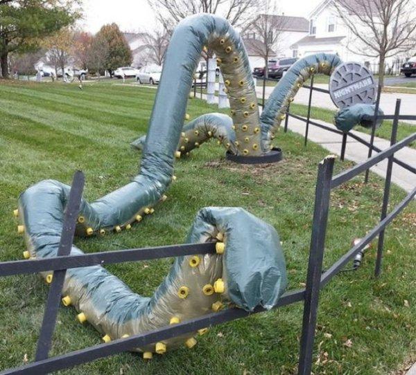17個巧妙絕頂的萬聖節裝飾佈置,將嚇壞你的家人和鄰居!