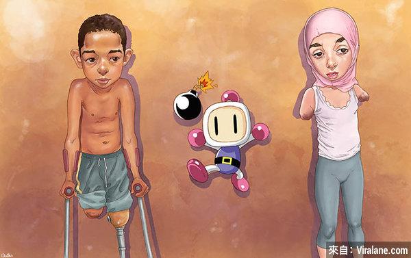 16幅引發極大爭議的「污穢」插畫,西班牙藝術家繪出日常生活中的醜惡