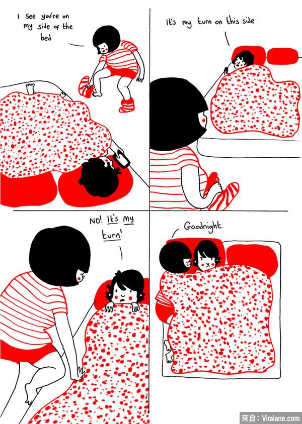 愛,是⋯簡單生活小事:24幅溫暖你心的插畫小品