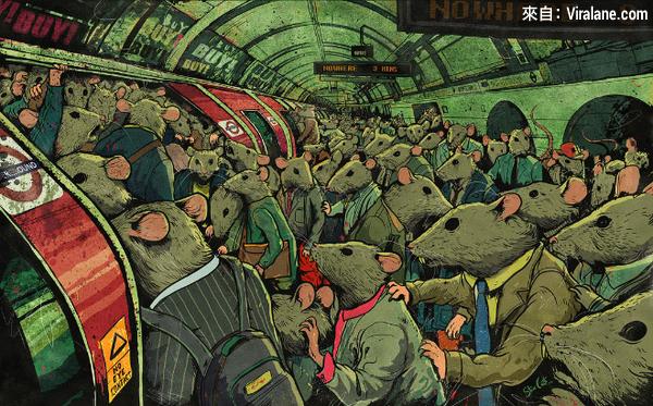 17幅插畫揭示沒有靈魂的現代生活 (by Steve Cutts)