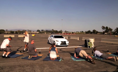 group How Lexus Cuts Cost On Their TVC With #LexusInstaFilm