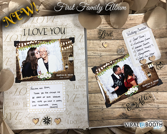 NEW! Ultimate Wedding Photo Booth – Featuring The First Family Photo Album