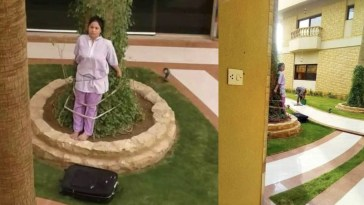 Filipina Maid Tied to a Tree by Cruel Employers in Saudi Arabia