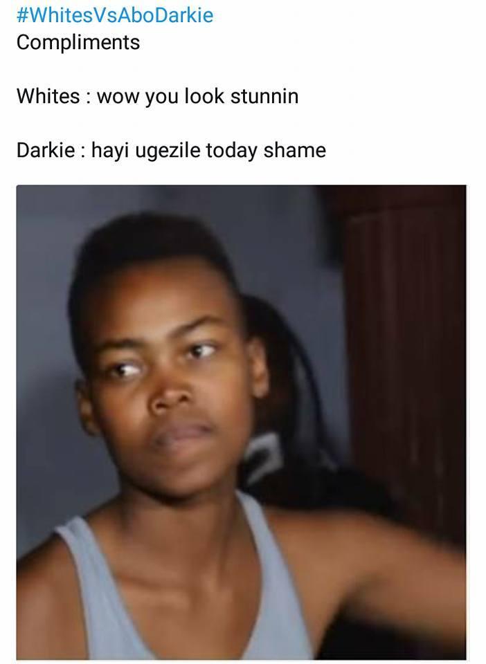 LOL Funniest Whites Vs AboDarkie Meme  Viral Feed South Africa