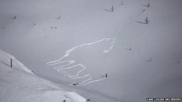dibujos huellas en la nieve (3)