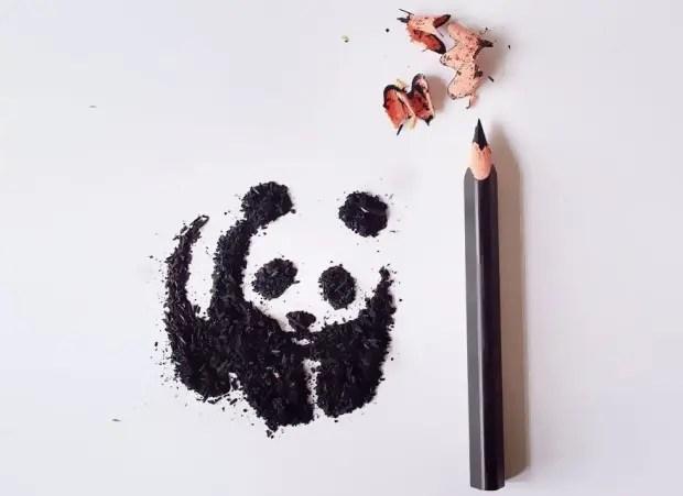 arte de meghan maconochie con punta de lapiz