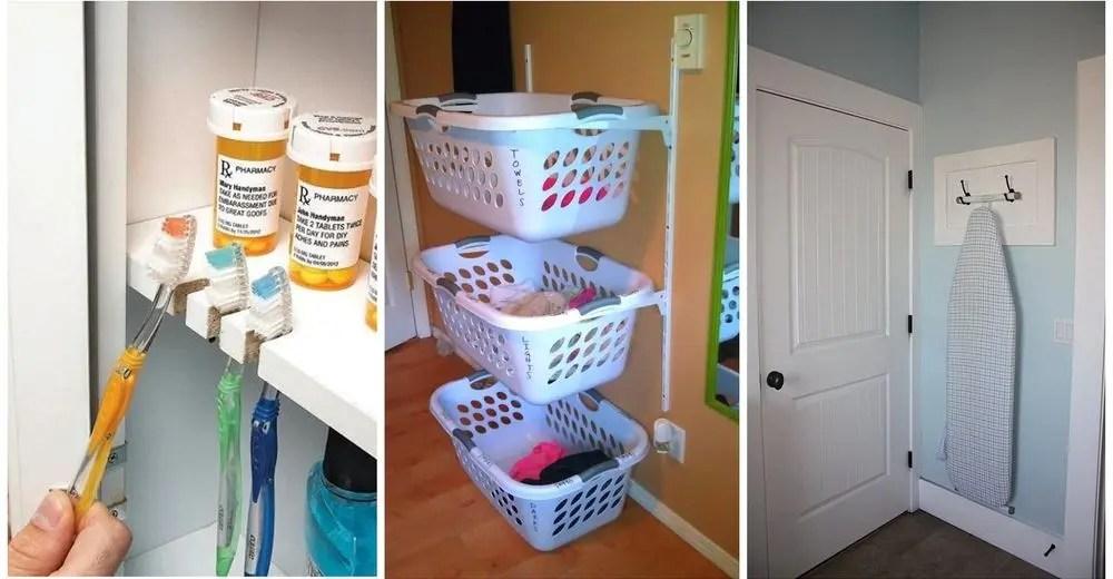 Las 20 mejores ideas para organizar tu hogar de la forma