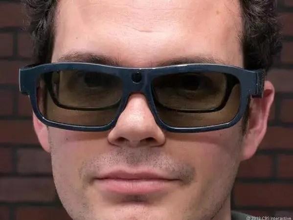 Lentes en 3d y gafas de ver