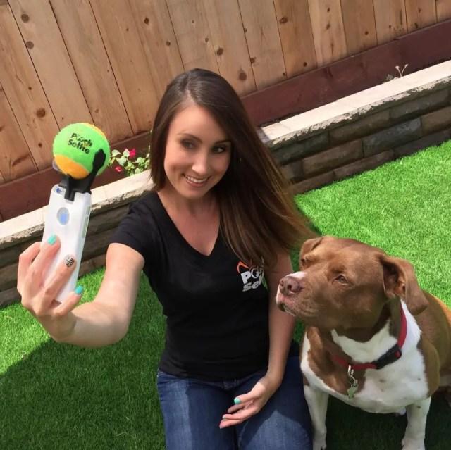 selfie perro 3