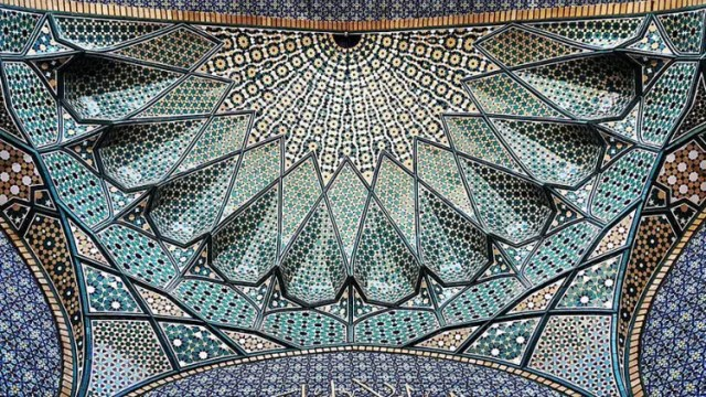 hermosa mezquita en iran 3