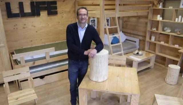 La cama de madera que cuesta lo mismo que un pantal n y - Muebles lufe azpeitia ...