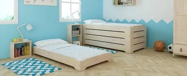 La cama de madera que cuesta lo mismo que un pantal n y for Muebles a bajo precio