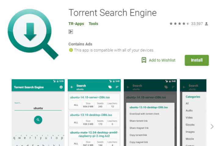 the best torrent search engine