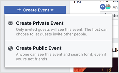 Event Placement on Facebook