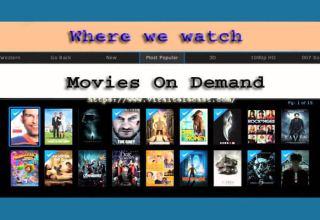 watch movies on demand