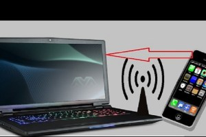 mobile features on Laptop