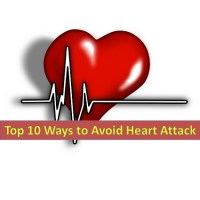 Top 10 Ways to Avoid Heart Attack