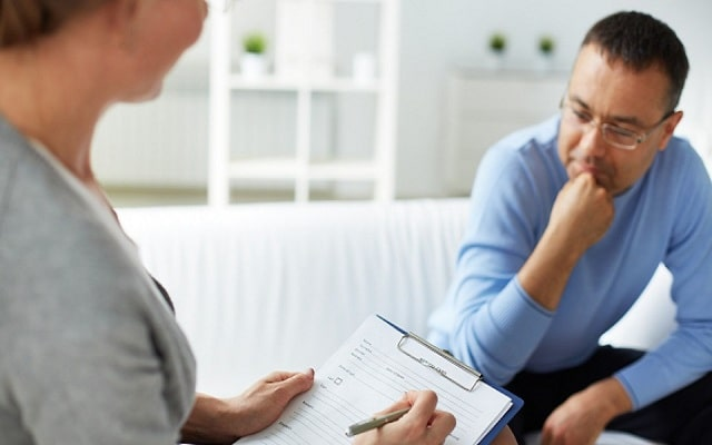 e counseling of mentally ill patient
