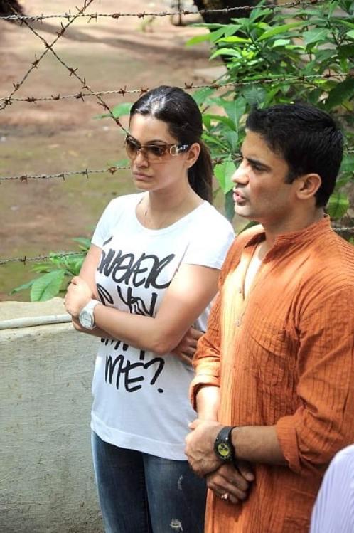 payal rohatgi with husband sangram singh