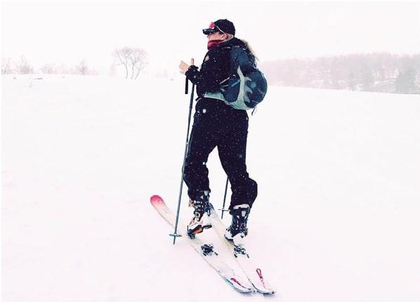 women ski camp