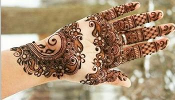 Mehndi designs for Indian bride