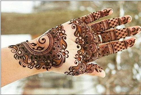 mehendi design for brides