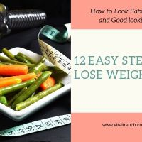12 Steps to Lose Weight Fast and Get a Good looking Body