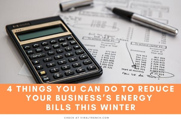 Reduce Your Business's Energy Bills This Winter