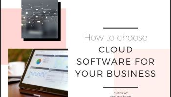 cloud software for your business