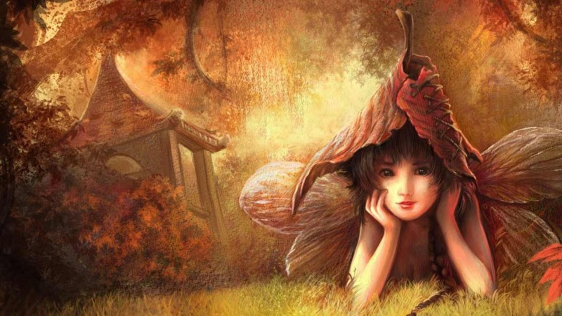 Fall Fairys Wallpapers 14 Im 225 Genes De Hadas Magicas