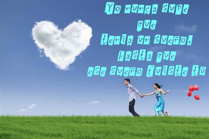 Imgenes de Amor con frases para dedicar