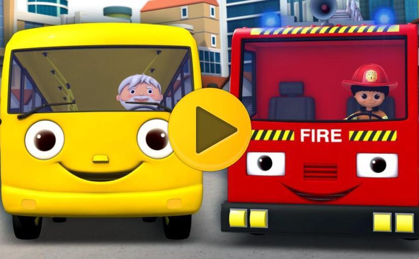 Wheels On The Bus | Part 11 | Nursery Rhymes | By LittleBabyBum